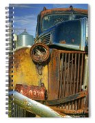 Close Up Of Rusty Truck Spiral Notebook