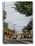 Closed On Sundays 2 - Amish Country Spiral Notebook