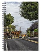 Closed On Sundays - Amish Country Spiral Notebook