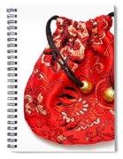 Cloth Purse Spiral Notebook