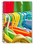 Clothes Hanging Spiral Notebook