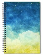 Cloud And Sky Spiral Notebook