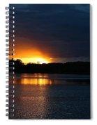 Cloud Color Spectrum Spiral Notebook