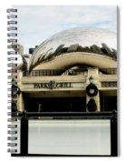 Cloud Gate - 2 Spiral Notebook