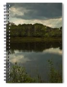 Cloud Reflections Spiral Notebook