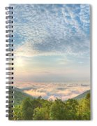 Cloud Sea Spiral Notebook