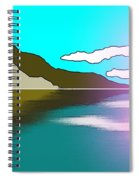 Clouded Sunrise Spiral Notebook