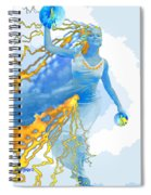 Cloudia Of The Clouds Spiral Notebook