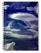 Clouds - 02 Spiral Notebook