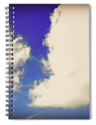 Clouds-10 Spiral Notebook