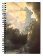 Clouds-4 Spiral Notebook
