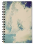 Clouds-5 Spiral Notebook