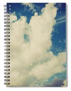 Clouds-7 Spiral Notebook