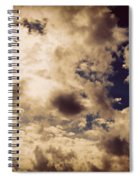 Clouds-8 Spiral Notebook