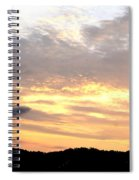 Clouds Afire Spiral Notebook