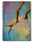 Clouds And Branches Of Life Spiral Notebook