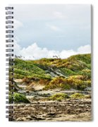 Clouds And Dunes Spiral Notebook