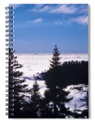 Clouds At Sequoia National Park Spiral Notebook