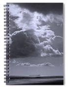 Clouds Gathering Spiral Notebook