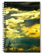 Clouds Of Many Colors Spiral Notebook
