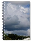 Clouds Of Thunder Spiral Notebook