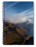 Clouds On The Horizon Spiral Notebook