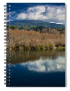 Clouds On The Klamath River Spiral Notebook