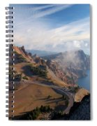 Clouds On The Ridge Spiral Notebook