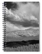 Clouds Over Breckenridge Colorado Spiral Notebook