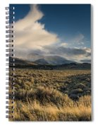 Clouds Over East Humboldts Spiral Notebook