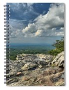 Clouds Over The Cliff Spiral Notebook