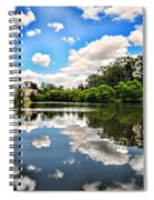 Clouds Reflection On Water Spiral Notebook