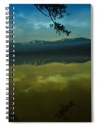 Clouds Trying To Dance In Still Water Spiral Notebook
