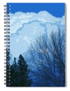 Cloudy Blue Dream Spiral Notebook