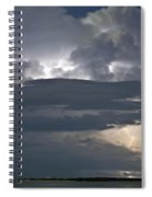 Cloudy Horizon Spiral Notebook