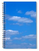 Cloudy With A Chance Of Sky Spiral Notebook