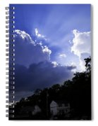 Cloudy With A Chance Of Sunshine Spiral Notebook