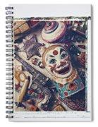 Clown Bank Spiral Notebook