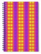 Clown Fractals Spiral Notebook