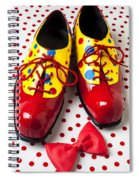 Clown Shoes  Spiral Notebook