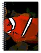Clowning Around Spiral Notebook