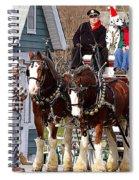 Clydesdales Spiral Notebook