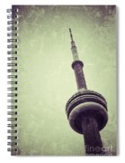 Cn Tower Spiral Notebook