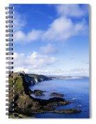Co Antrim, Dunluse Castle Spiral Notebook