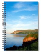 Co Antrim, Glenariff Or Waterfoot Spiral Notebook