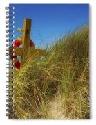 Co Down, Ireland Lifebelt Spiral Notebook