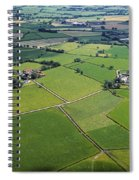 Co Fermanagh, Ireland Aerial View Of Spiral Notebook