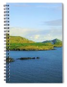 Co Kerry, Ireland Landscape From Spiral Notebook