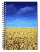 Co Louth,irelandwheat Field Spiral Notebook