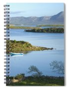 Co Mayo, Ireland Evening View Across Spiral Notebook